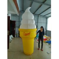 Quality Beautiful inflatable ice cream cone for advertising can custom LOGO wholesale
