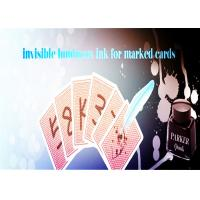 Quality Magic Trick Luminous Ink With A Marker Pen For Making Poker Invisible Marks wholesale