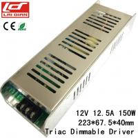 Quality DC12V 150W Dimmable LED Lighting Power Supply Constant Voltage With Forward Phase wholesale