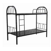 China Simple Steel Bunk Bed Portable Modern Metal Bunk Bed School  Home Furniture on sale
