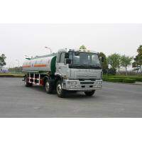 China Jinggong Chassis 6x2 For Transport Petroleum , Diesel Oil 220HP Carbon Steel Fuel Delivery Truck 21cbm on sale