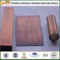 Cheap 304 Bronze Stainless Steel Pipe Standard Sizes for sale