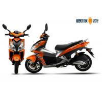 China Powerful Electric Motor Scooter Motorcycle With Airbag Shock Absorber on sale