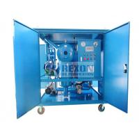 Quality Dust Proof Type High Efficiency Vacuum Transformer Oil Purifier Machine for Power Plant Maintenance wholesale