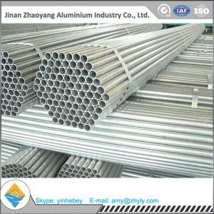 China Polished Aluminum Oval Tube Rectangular / Square Aluminum Profiles 6063 on sale
