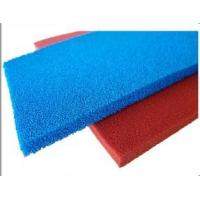 Quality Red Blue Silicone Sponge Sheet Food Grade Silicone Rubber Sheet Open Cell For Iron Table wholesale