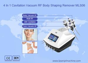 China 4 In 1 Cavitation Vacuum RF Ultrasonic Slimming Cellulite Remover on sale