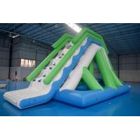 Quality Customized 0.9mm PVC Tarpaulin Inflatable Water Slide For Commercial Use wholesale