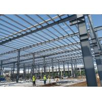 Quality Steel Structure Framed Commercial Office Building, Structural Steel Truss Prefab Construction Workshop with Drawing wholesale