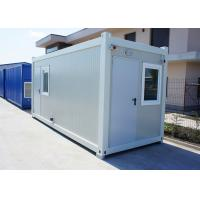 Quality Insulation Modular Container House Portable With 75mm Glass Wool Sandwich Panel wholesale