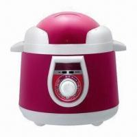 Quality Colored Mechanical Electric Pressure Cooker with 220V, 900W Power Supply wholesale