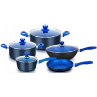China Forged aluminum non stick cookware set with flavour stone coating on sale