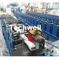 Quality Downspout Machine / Suqure Tube Cold Roll Forming Machine for Making Rectangular Tube wholesale