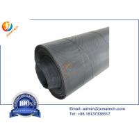 China High Temperature Resistant Molybdenum Wire Mesh With Elecropolishing Bright Surface on sale