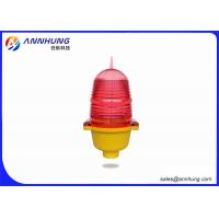 China Television Tower Obstruction Lighting / Aviation LED Lights Aluminum Alloy on sale