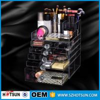 Quality China new products acrylic makeup display, acrylic makeup box, acrylic makeup storage boxes wholesale