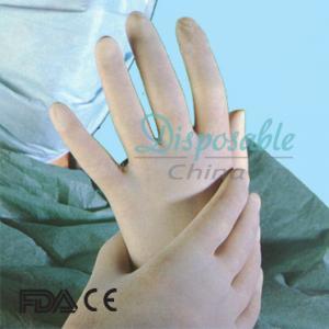 China Wholesale dash medical powdered latex examination gloves on sale