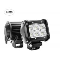 Quality Double Row Vehicle LED Light Bar , 18W Off Road Fog Driving Lights wholesale