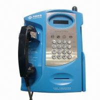 Quality Metal Keypad and Vandal Resistant Auto Dial Telephone for Hallways, Airports and Malls wholesale
