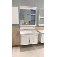 Cheap Modern PVC Contemporary Bathroom Vanity Sets With Soft - Closing Hinge Door for sale