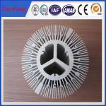 Quality extruded aluminium alloy profile aluminum radiator, trapezoid radiator aluminium profiles wholesale