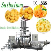 Quality Jinan Saibainuo Corn Puff Cheese Ball Snacks Food Making Machinery Production Line wholesale