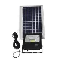 Quality IP65 20W Solar Powered Backyard Lights Motion Sensor ABS Material 160LM Lux wholesale