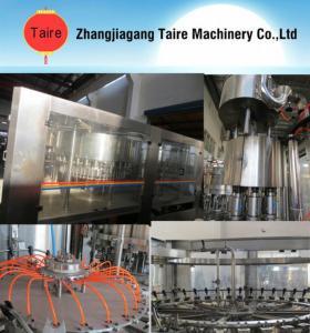 Quality PET or Glass Bottle Fruit Juice Hot Filling Machine Turn-key Project wholesale