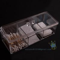 Quality acrylic cosmetic drawer organizer wholesale