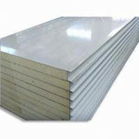 Quality Construction structural Insulated roof panels , polyurethane sandwich panel 30 - 120mm wholesale