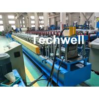 Quality PLC Control System Cold Roll Forming Machine For Making Rainwater Gutter Roll Forming Machine wholesale