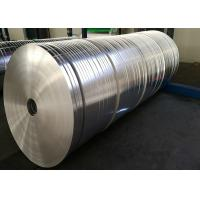 Quality Silver Hot Rolling Aluminium Strips For Heat Sink , Width 12mm - 1250mm wholesale