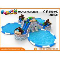 Quality Gorilla Water Wonderland Inflatable Water Theme Park Air Tight wholesale