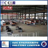 Quality Customized Rock Wool Sandwich Panel Production Line , 10T / 8TVentilation Duct Forming Machine wholesale