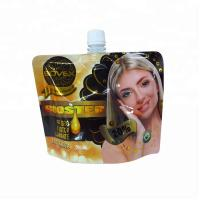 China Hair Dyes Packaging Pouch with Top Spout Hair Dye Perm Packaging Bag Efficient Stand-up Spout pouch for Cosmetic on sale