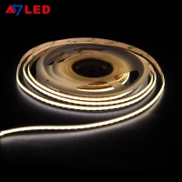 China Free Cuttable Floor Linear Light High Density Brightness No Spot COB FPC Flexible 5M LED Light Strip on sale