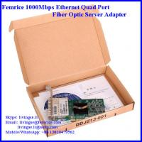 Quality 1000M Gigabit Ethernet Network Adapter, Network Card, SFP*4 Slots, PCI Express x4 wholesale