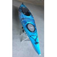 China Plastic Open Single Sit Inside KayakMixed Color  400l*66w*36h With One Paddle on sale