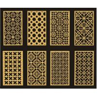 Quality Customized Carved MDF DIY Room Divider Panels For Interior / Meeting Room wholesale