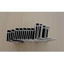 Extrusion Profile Aluminium Solar Panel Frame , PV Solar Panel Mounting Frame for sale