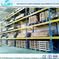 Buy cheap High Height Square Hole Steel Heavy Duty Pallet Storage Shelf for Industrial use product