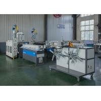 Quality PVC Pipe Making Machine Plastic Pipe Extrusion Line With Cooling System wholesale