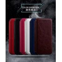 Quality Book Cover IPhone Leather Wallet Case For Iphone 7 Plus Flip Stand Two Card Slot wholesale