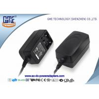 Quality Interchangeable 12V 1A  Universal AC DC Adapters With EU US UK AU Plug wholesale