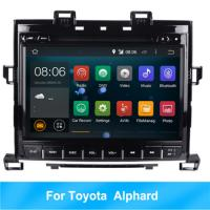 Quality RK Android 8.1 HD car multimedia player car radio For Toyota Alphard GPS BT 2G RAM wholesale