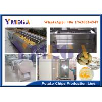 Quality Easy Operation Automatic Electric Potato Chips Slicer French Fries Processing Line wholesale