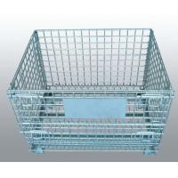 Quality Heavy Duty Wire Mesh Container Provide Casters Dividers Easy To Operate wholesale