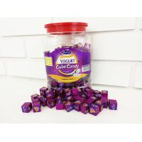 Quality 2.75g Compressed Healthy Hard Candy / Yogurt Cubes In Jars OEM wholesale