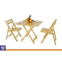 Cheap wood square folding dinning table and chairs sets for Cheap dining chairs set of 8