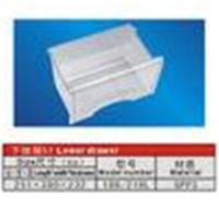 Quality Custom GPPS Refrigerator Replacement Part Lower Drawer 188L 218L 251mm wholesale